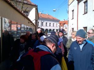 Turister fra Horten Marsjklubben